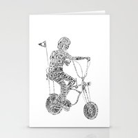 A boy's thing Stationery Cards