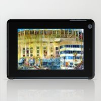 The Old Yankee Stadium Watercolor iPad Case