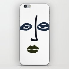 Simple Face iPhone & iPod Skin