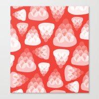 Strawberry Jelly Canvas Print