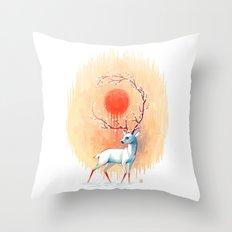 Spring Spirit Throw Pillow