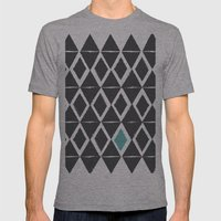 diamond back Mens Fitted Tee Athletic Grey SMALL