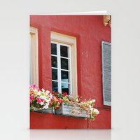 Window Boxes Stationery Cards