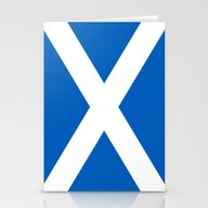 Flag Of Scotland - High … Stationery Cards