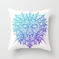 Heart of a Lion Throw Pillow