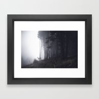 Tell Me About The Forest… Framed Art Print
