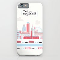 iPhone & iPod Case featuring London upperground by Sonia Poli