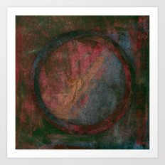 Circle Distortions #7 Art Print