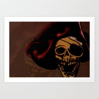 One eyed Willy Art Print