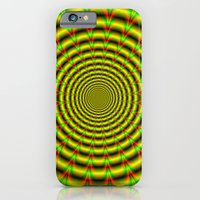 Pulse in Red Yellow and Green iPhone 6 Slim Case