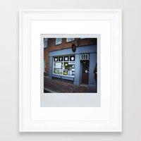 DYNO Records Framed Art Print