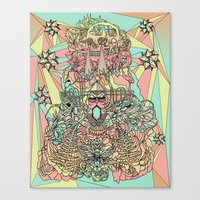 The Functioning Parts Canvas Print