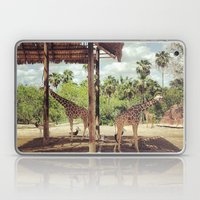 Giraffe Family Laptop & iPad Skin