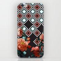Geo & Flowers iPhone & iPod Skin