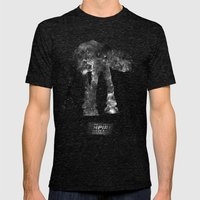 Star Wars - The Empire Strikes Back Mens Fitted Tee Tri-Black SMALL