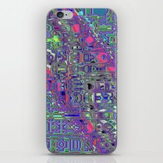 Quotient's Notions A iPhone & iPod Skin