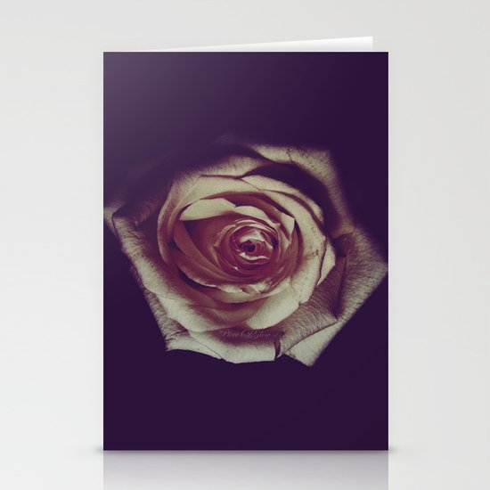 not all roses are red ;) Stationery Card