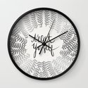 Treat Yo Self – Silver Wall Clock