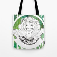 Daughter of the Forest Tote Bag