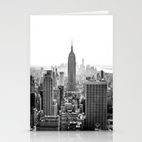 new york city Stationery Cards featuring New York City by Studio Laura Campanella