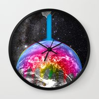 Canopy Of Color Wall Clock