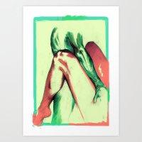Push Art Print
