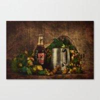 Beer Tankard... Canvas Print