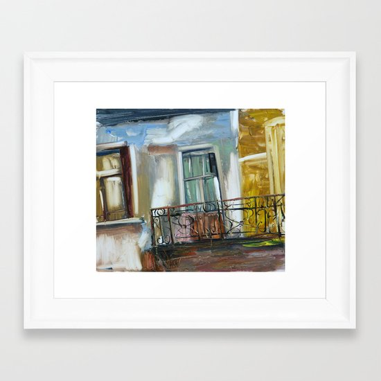 balconyIII Framed Art Print
