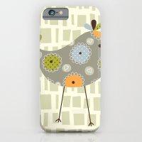 Grey Tweetie Bird iPhone 6 Slim Case