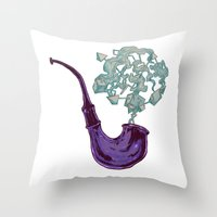 Messy Peace Of Mind Throw Pillow
