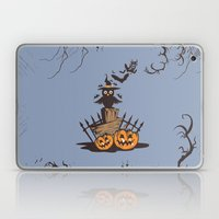 Halloween Owl Laptop & iPad Skin
