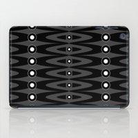 Black pattern iPad Case