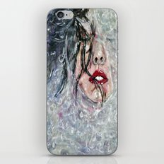 SOUS L'EAU iPhone & iPod Skin