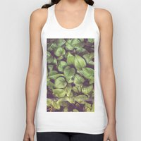 leaves Unisex Tank Top