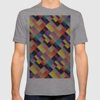 Geometri I Mens Fitted Tee Athletic Grey SMALL