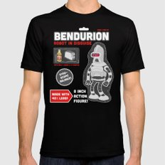 Bendurion: Robot in Disguise SMALL Black Mens Fitted Tee