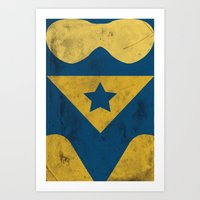 Booster Gold Art Print