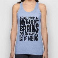 People Without Brains Unisex Tank Top
