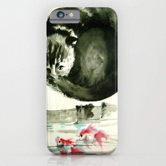 cunning cat iPhone & iPod Case