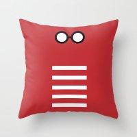 Where's Waldo Minimalism Throw Pillow