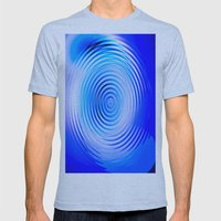 The Fountain Mens Fitted Tee Athletic Blue SMALL