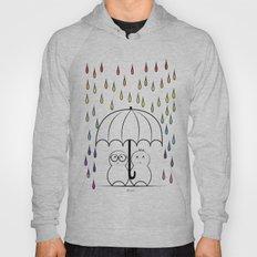 Mimos under Rainbow rain Hoody