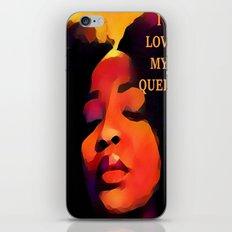 I love my black Queen iPhone & iPod Skin