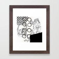 The Chaos Framed Art Print