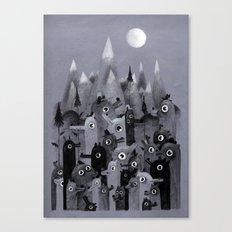 Nightbears Canvas Print