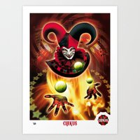 Poster Cirkus Art Print