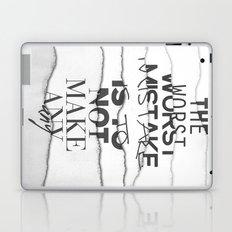 The Worst Mistake Laptop & iPad Skin