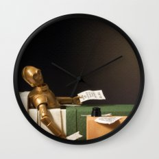 The Death of Robat Wall Clock
