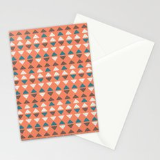Triangles + Dots Stationery Cards