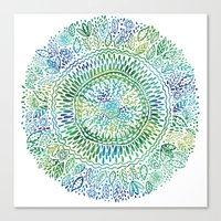 Intricate Nature  Canvas Print